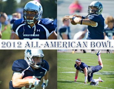 Menlo Football seniors Adan, Jonsson, O'Connor, & Pelesasa selected to play in 2012 All-American Bowl