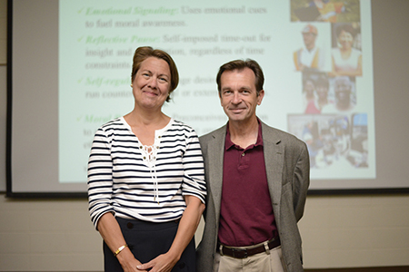 The Ethics in Action speaker series kicks off with a presentation by Dr. Thomas Plante.