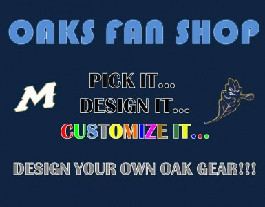 Menlo Athletics Introduces the Oaks Fan Shop