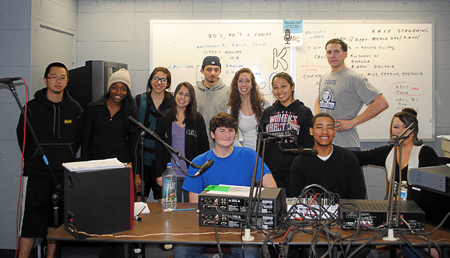 Menlo College Radio Station KMXX