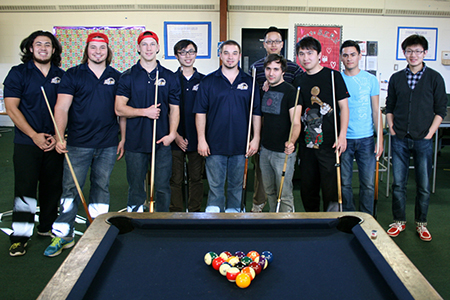 Menlo College Billiards Club holds first match of the semester