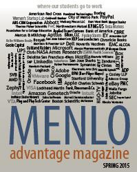 Menlo Advantage Spring 2015 Just Published!