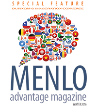 Menlo Advantage Winter 2016