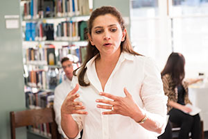 Dr. Bahareh Amidi Introduces Menlo to Poetic Expression