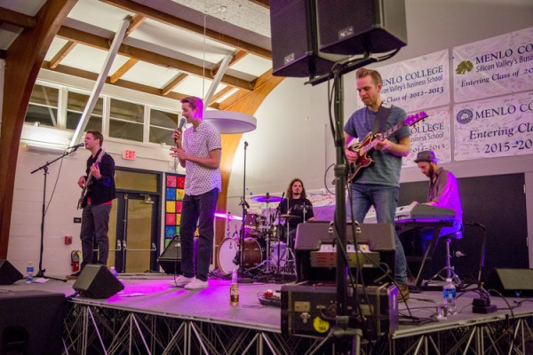 My Brothers and I perform at Menlo College