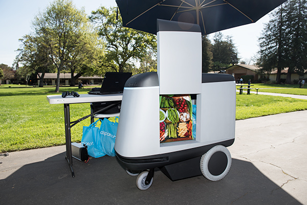 Carry the Robot Makes a Debut at Menlo College