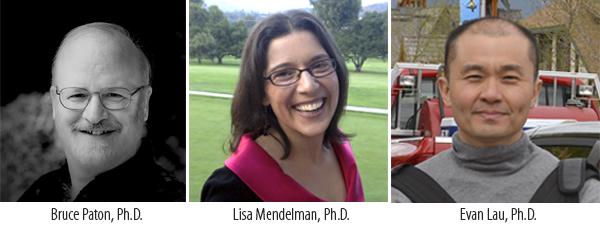Menlo College Welcomes Bruce Paton, Lisa Mendelman and Evan Lau to Academic Affairs