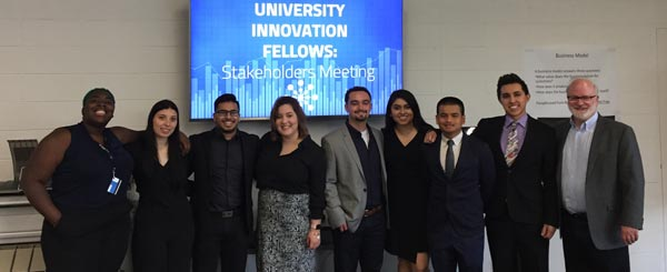 Stanford Names 8 Menlo College Students as University Innovation Fellows