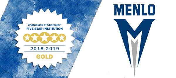 Menlo College Awarded Gold NAIA Five-Star Champions of Character Award