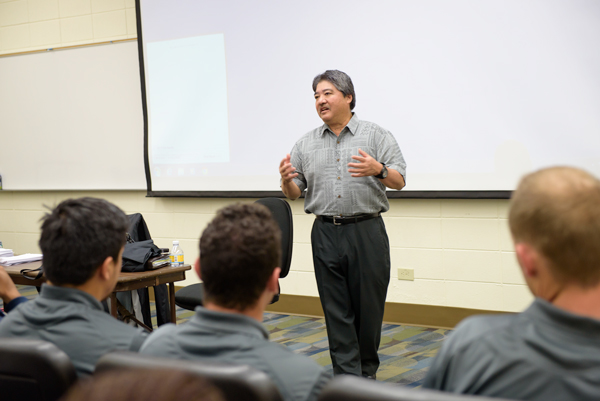 Kings Hawaiian CEO Shares What's in Their Cupboard with Menlo College Students