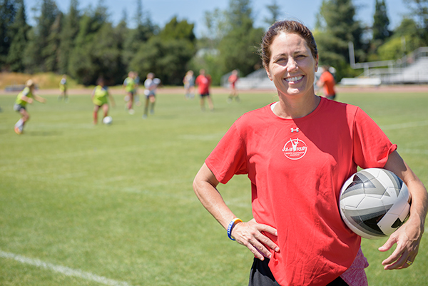 Julie Foudy brings her Sports Leadership Academy back to Menlo College
