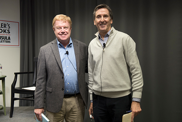 Menlo College President Richard Moran and Trustee Tom Byers Discuss The Thing About Work