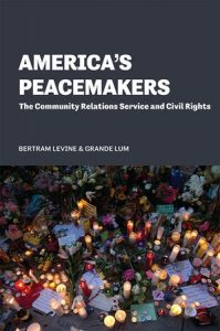 In company with The Ohio State University, Harvard, and Stanford, Provost Grande Lum launches America's Peacemakers Book
