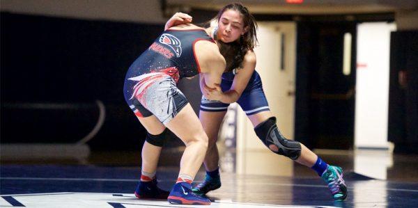 Menlo College Women's Wrestling #1