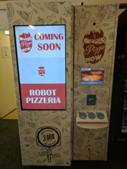 """A """"Robotic Pizzeria"""" Has Just Arrived at Menlo College"""