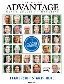 Menlo College magazine Spring 2014