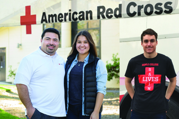 American Red Cross and Menlo College Keep Close Ties